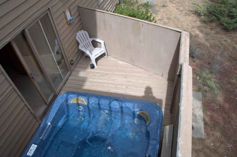 Lower Deck and Hot Tub