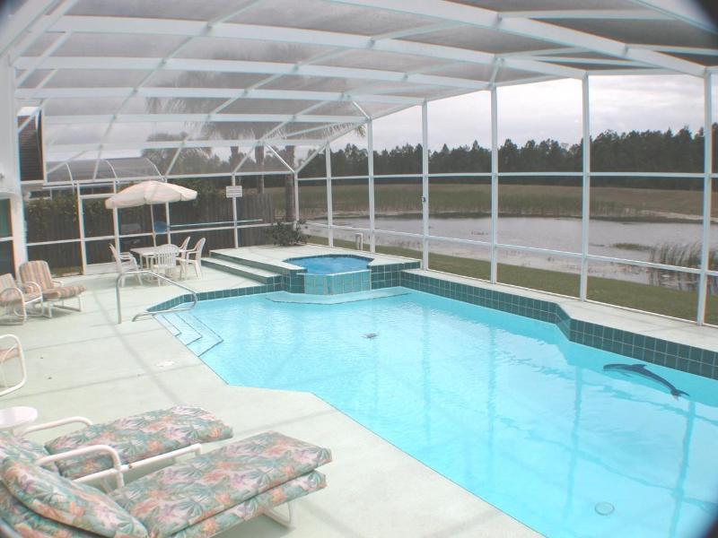 The oversized pool