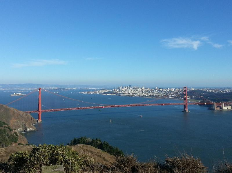 Enjoy San Francisco's Golden Gate Bridge and other popular sites and stay at West Coast Villa