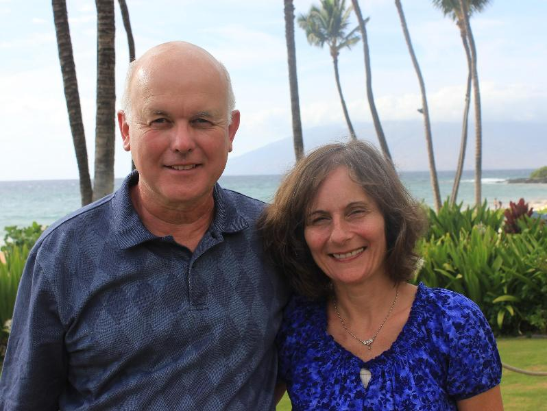 Don and Krista Robertson Owners Of West Coasst Villa In The San Francisco Bay Area