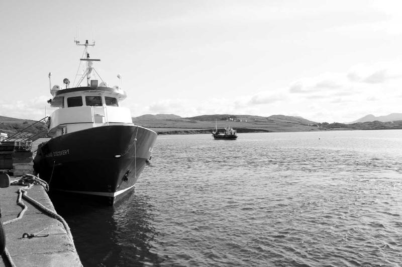 Cleggan Pier
