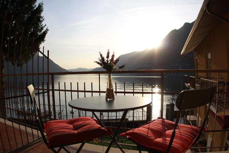 Master Bedroom balcony views of the lake