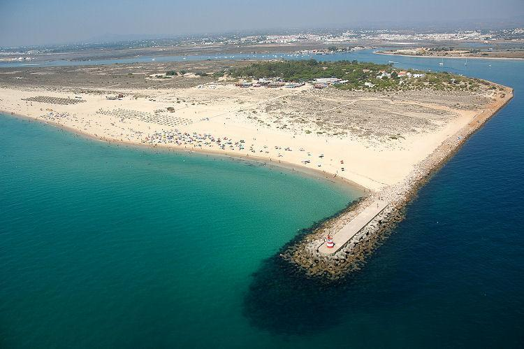 Beaches on nearby Tavira Island