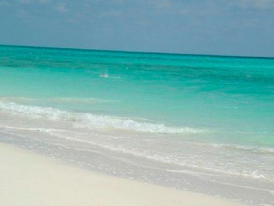 Nuestra playa en el mar de diamantes bythe