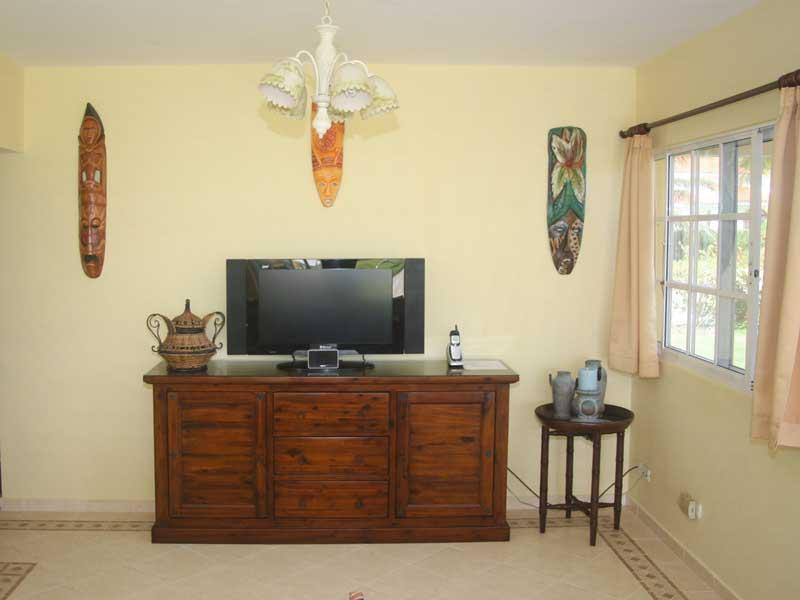 TV section of Living Room