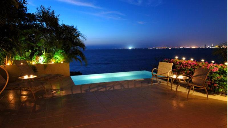 The Beach House perched above Los Muertos Beach with panoramic views...., vacation rental in Puerto Vallarta