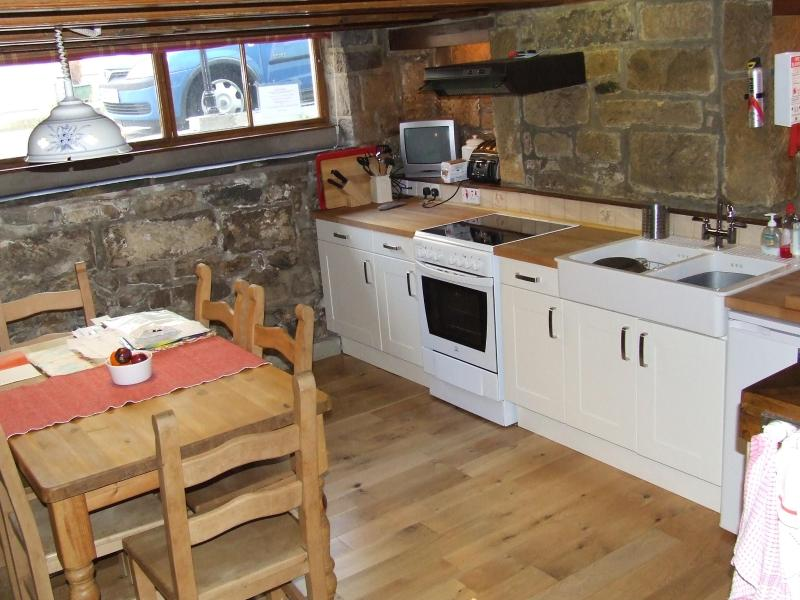 Part of the dining kitchen