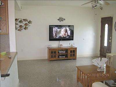 Living area with Flat screen TV
