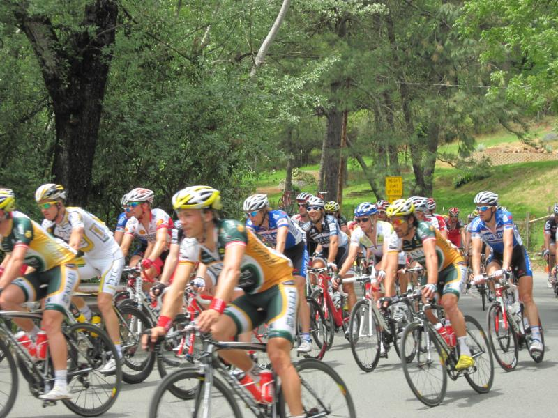 Amgen Race in Nearby Colfax