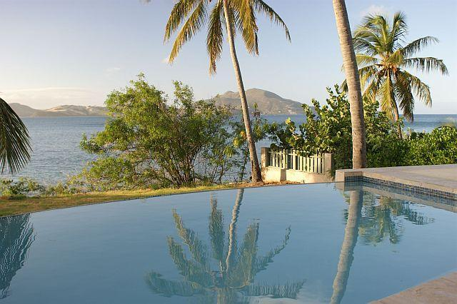 Infinity Pool Melds with Caribbean