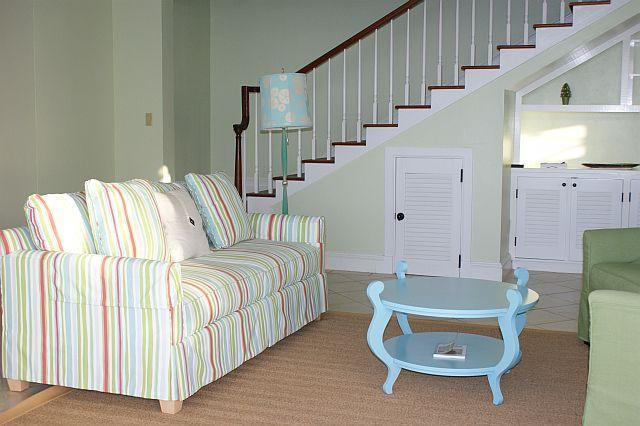 Living Room and Steps Upstairs