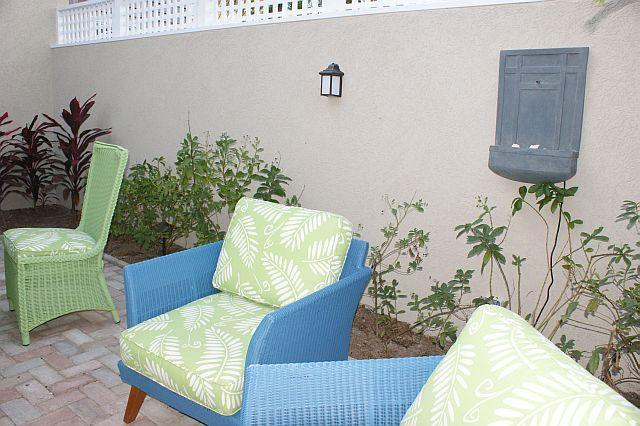 Shady Courtyard off Master Suite