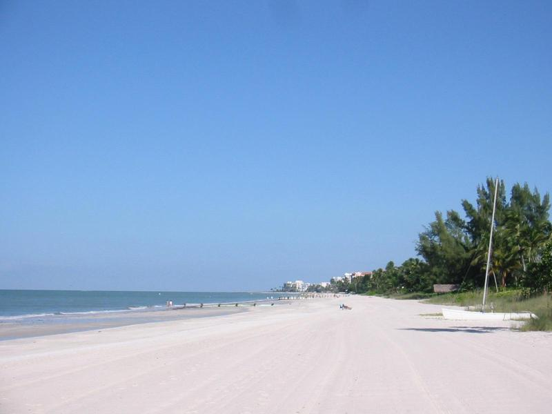 Beach - view to the North