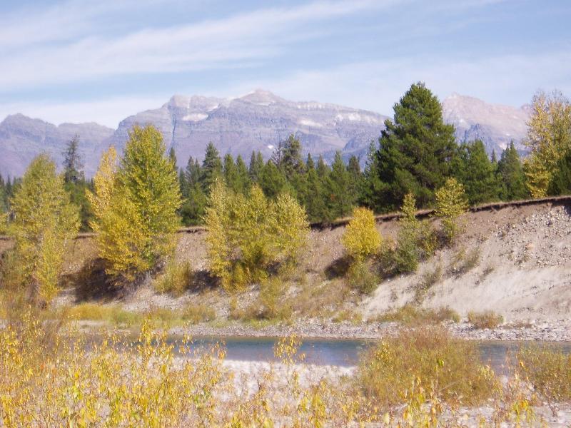 Glacier Park, a western view