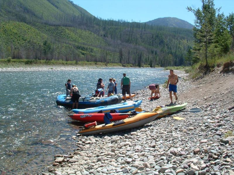The North Fork of the Flathead river! Great boating opportunities