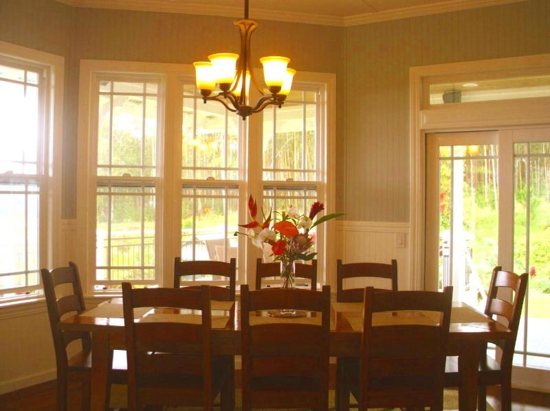 dining room w views in 2 directions