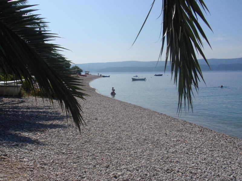 beach east of villa