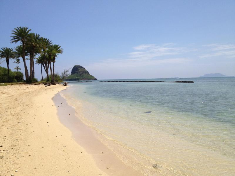 Nearby Kualoa Beach-Chinaman's Hat Island