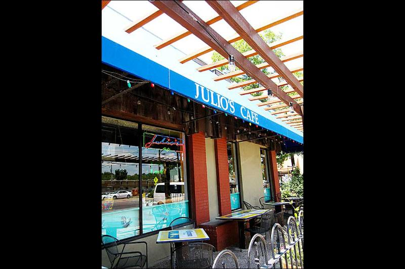 Julio's in Hyde Park has some of the best Mexican food in Austin.
