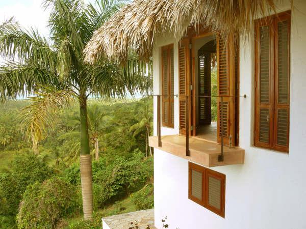balcón exterior una habitación