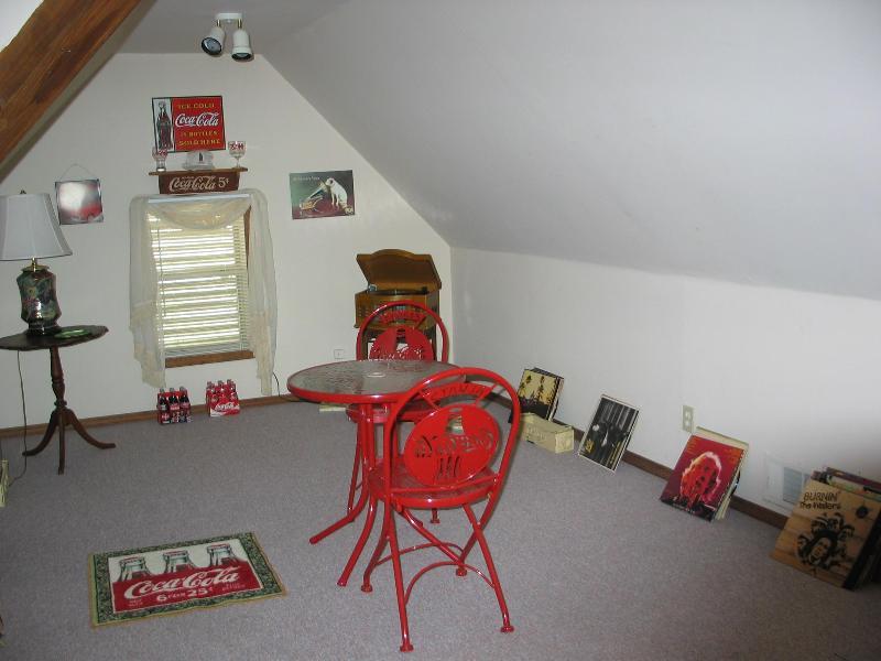 loft area on 3rd floor
