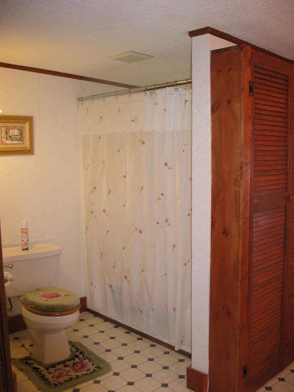 second floor full bath shower