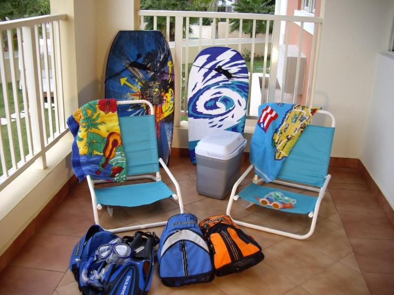 Beach Equipment available for guest