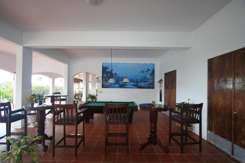 Pool Table Area Terraza