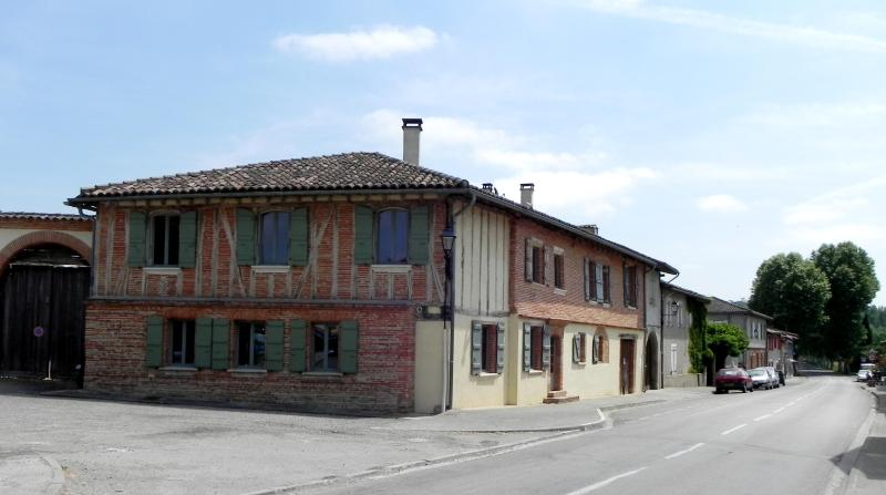 House seen from the village square
