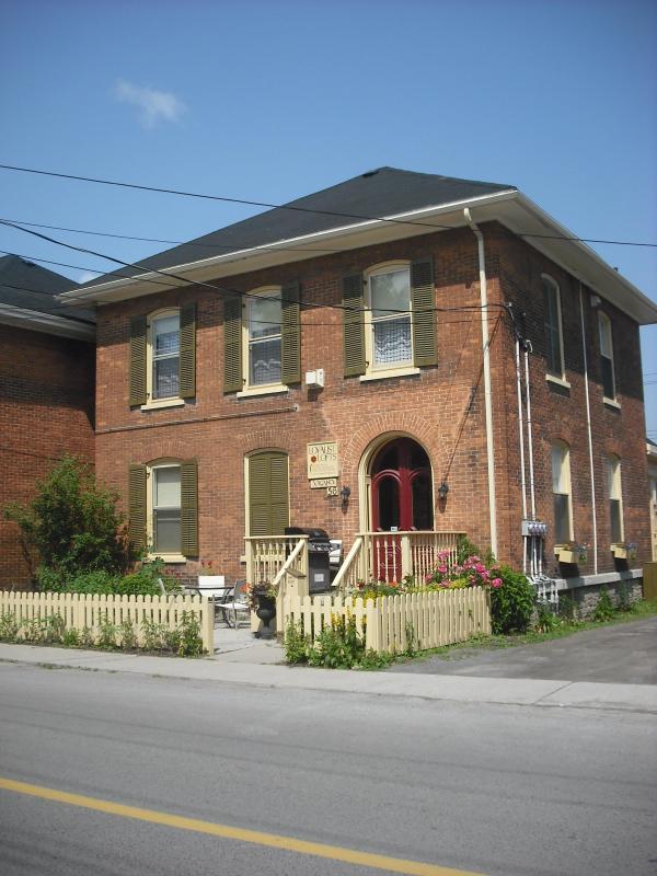 Exterior of Loyalist Lofts