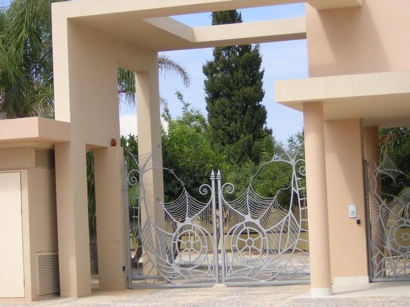 Main Entrance Electronic Gates