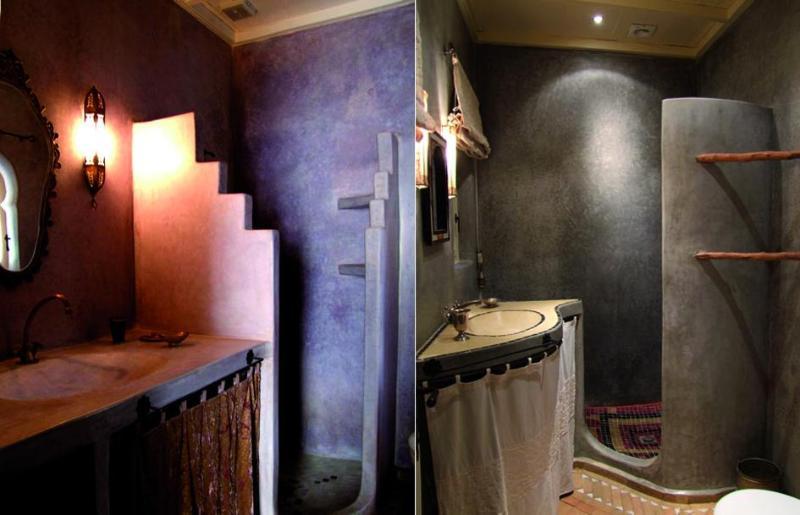 2 ejemplos de los baños