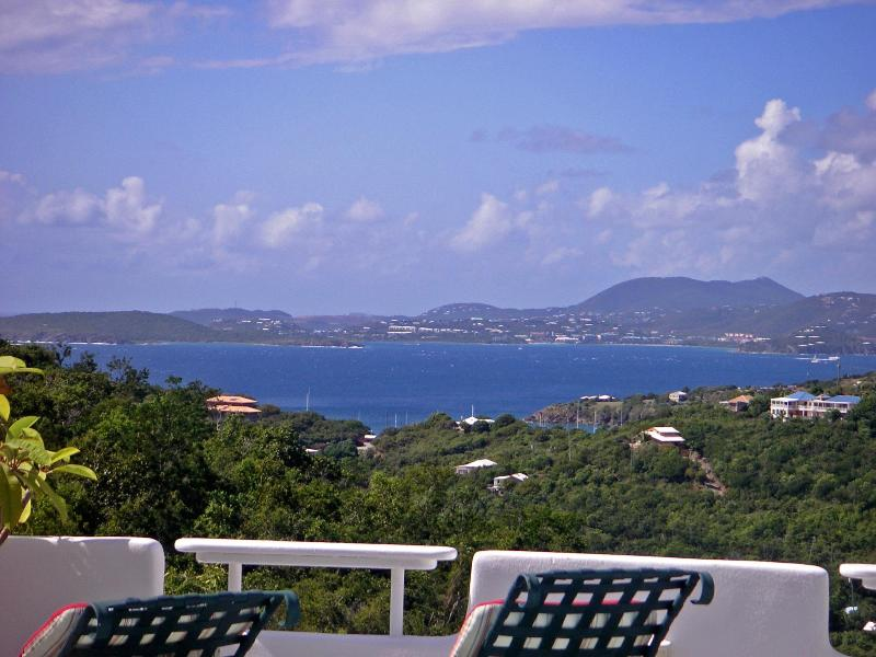 Ocean View of St. Thomas and Sunsets!