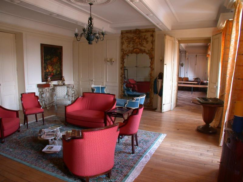 Drawing room in the chateau
