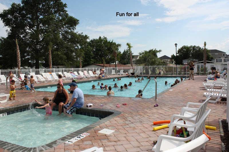 Pool #2 (Outdoor heated) - includes separate 'Kiddie Pool'