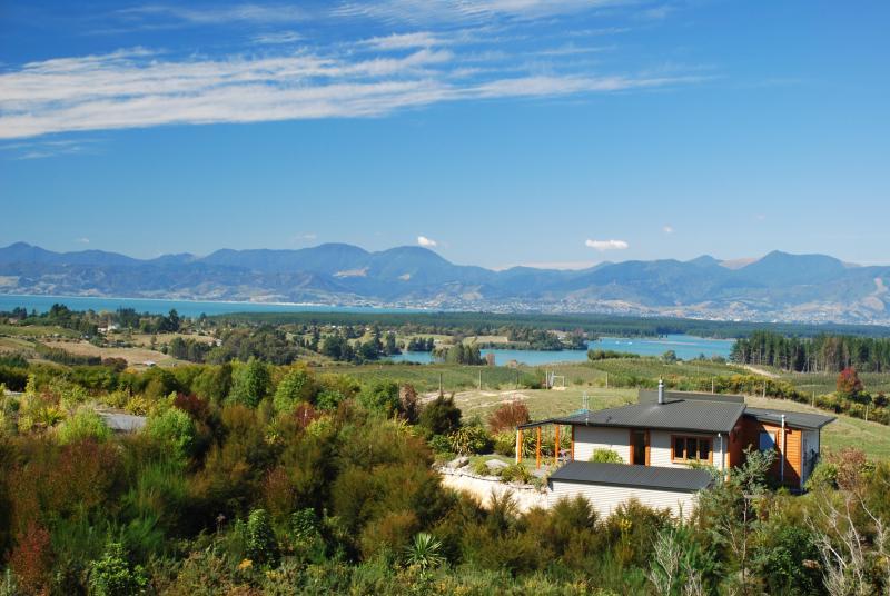 Vista de la cabaña de Old Coach Road
