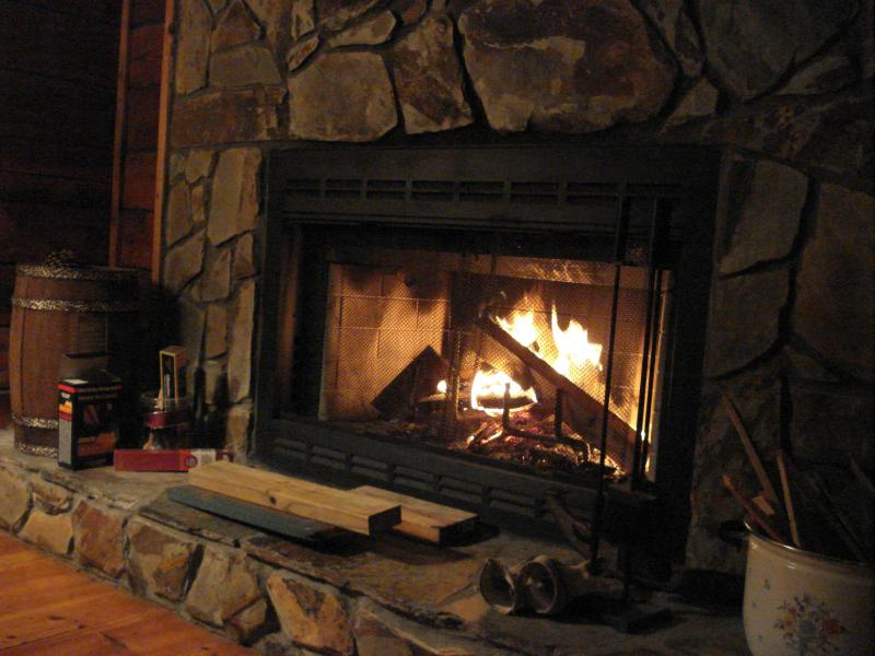 We provide firewood for those chilly nights; you just need a starter and your slippers.