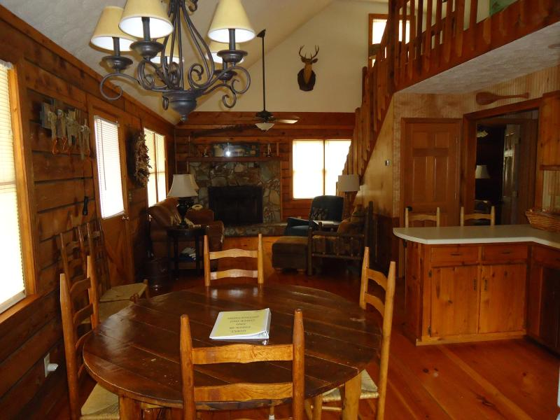 Kitchen view to livingroom