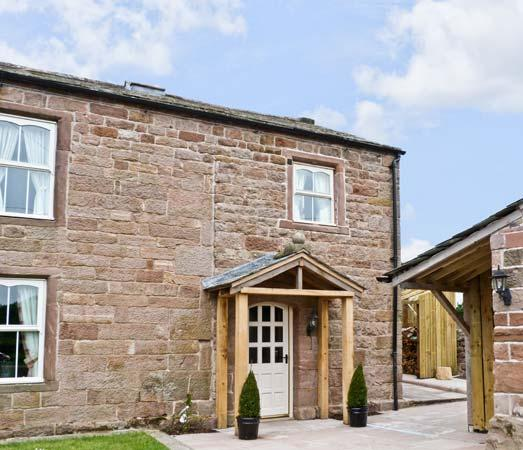 THE COW BYRE , romantic, luxury holiday cottage, with open fire in Barras, Ref, Ferienwohnung in Brough