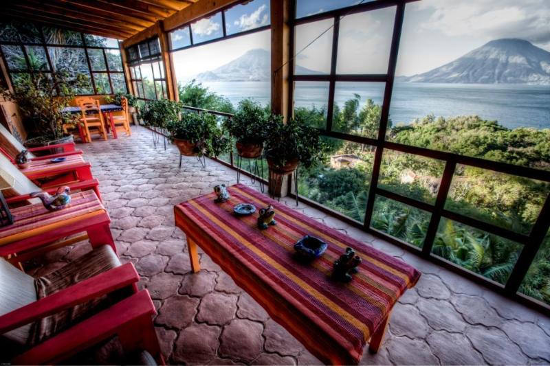 Patio with the view