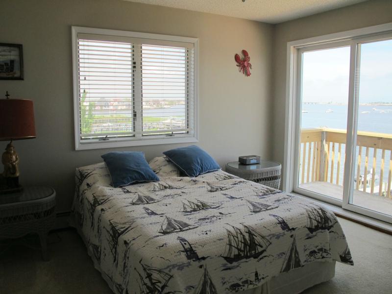 3rd Floor Back Bedroom - Private Deck