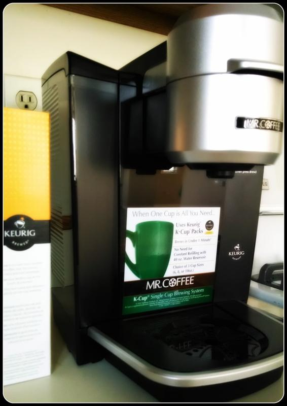 Enjoy coffee? Use our K-Cup maker or our regular drip coffee maker.