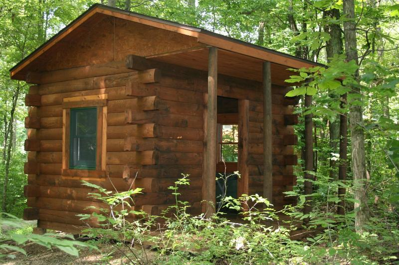 Primative 2 person cabin for our guests!