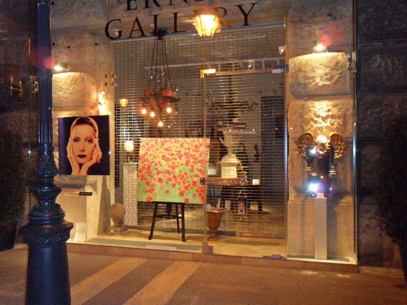 À proximité de la Galerie d'art