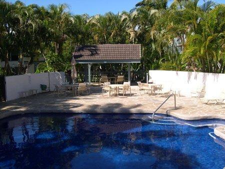 Just a few steps away from the Kahala pool and spa area