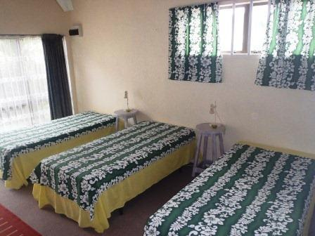 Bedroom 3 - Triple beds