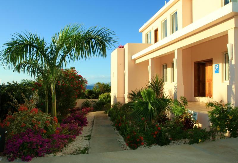 Gardens in Front of Villa