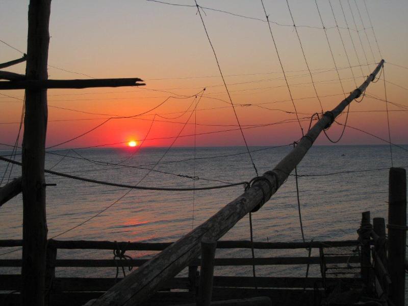 Trabucco Sunset