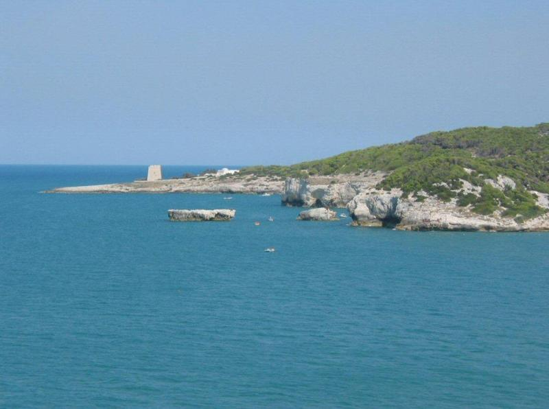 Rugged Gargano coastline