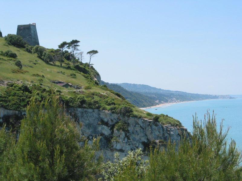 Torre di Monte Pucci and Gargano coastline